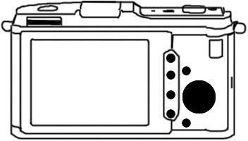 Olympus E-P1 Sketch Back