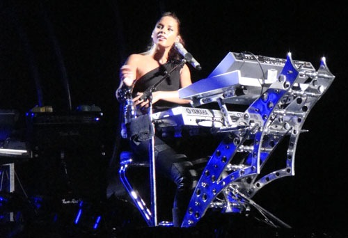 Alicia Keys, O2 Dublin, May 21 2010